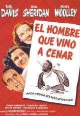 El hombre que vino a cenar (1942) The Man Who Came to Dinner DescargaCineClasico.Net
